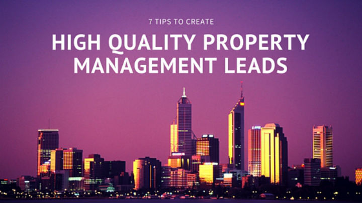 High Quality Property Management Leads