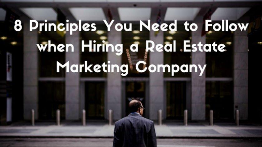 Hiring a Real Estate Marketing Company