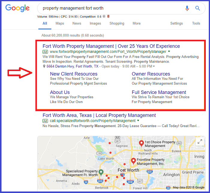 Google Ads for Property Management