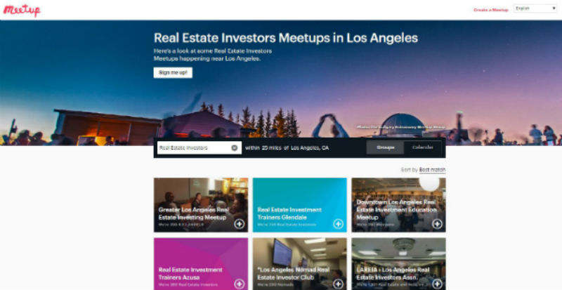 Real Estate Investors Meetup