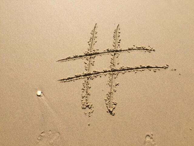 Using Hashtags to promote your event planning business