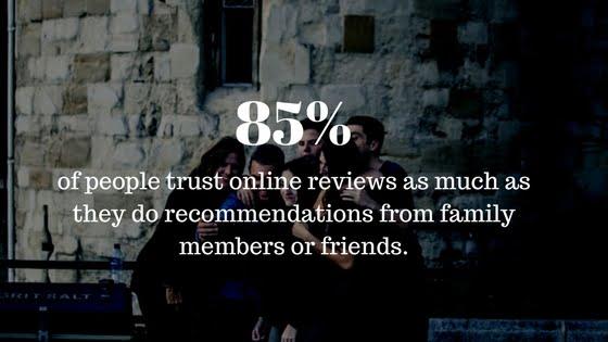 People trust reviews