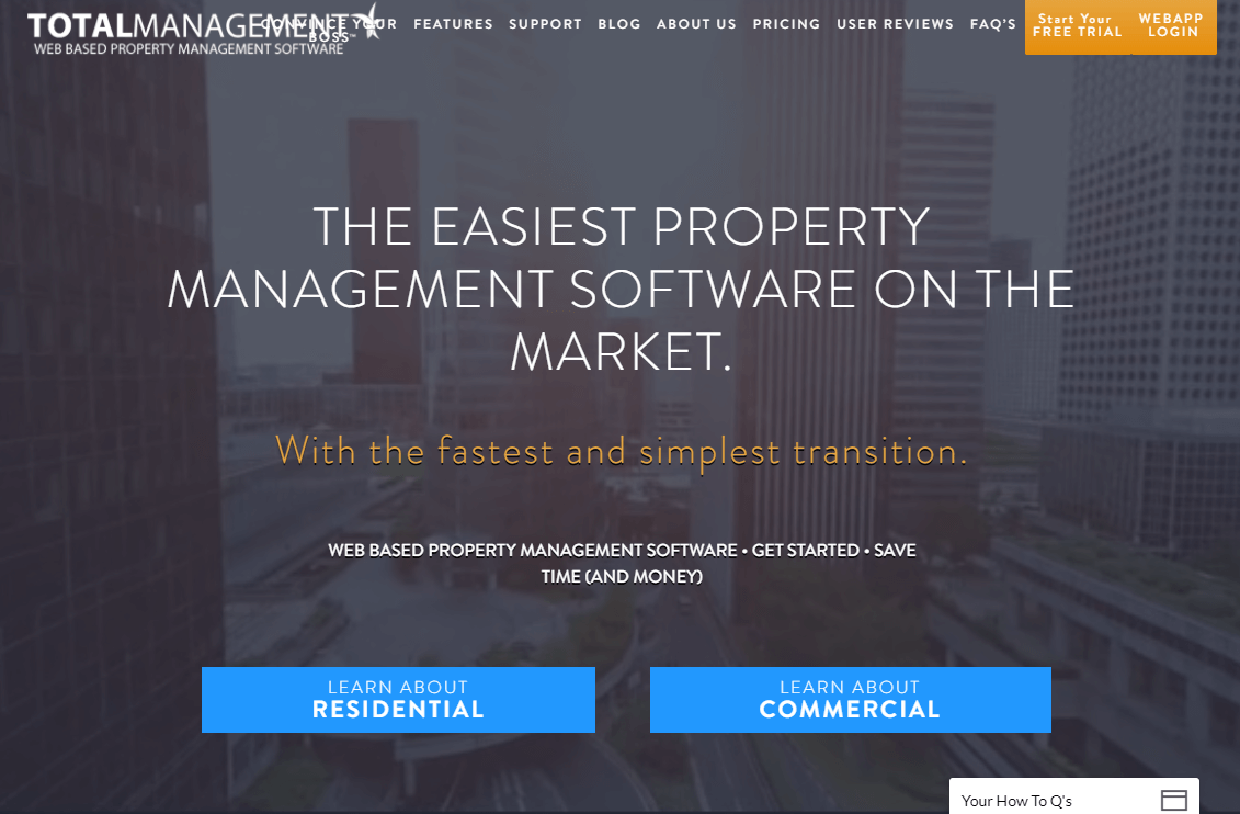 Commercial Property Management : What you need to know about property management software