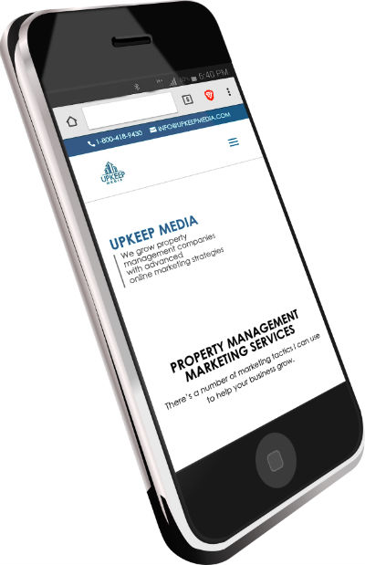 Mobile Responsive Property Management Website
