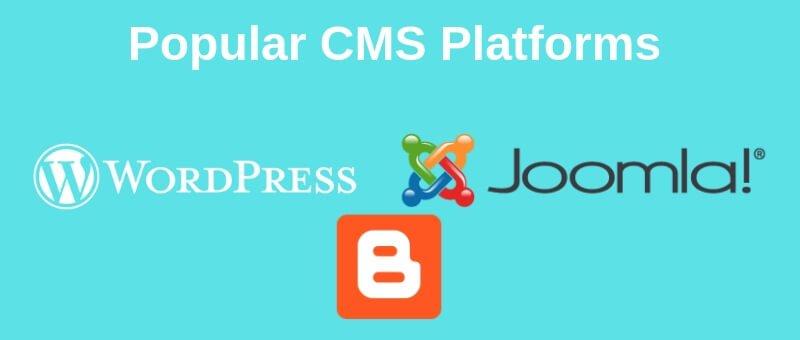 Popular CMS Platforms