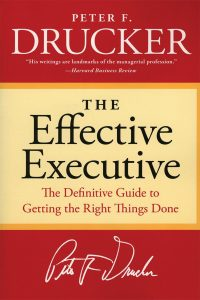 The-Effective-Executive-by-Peter-Drucker