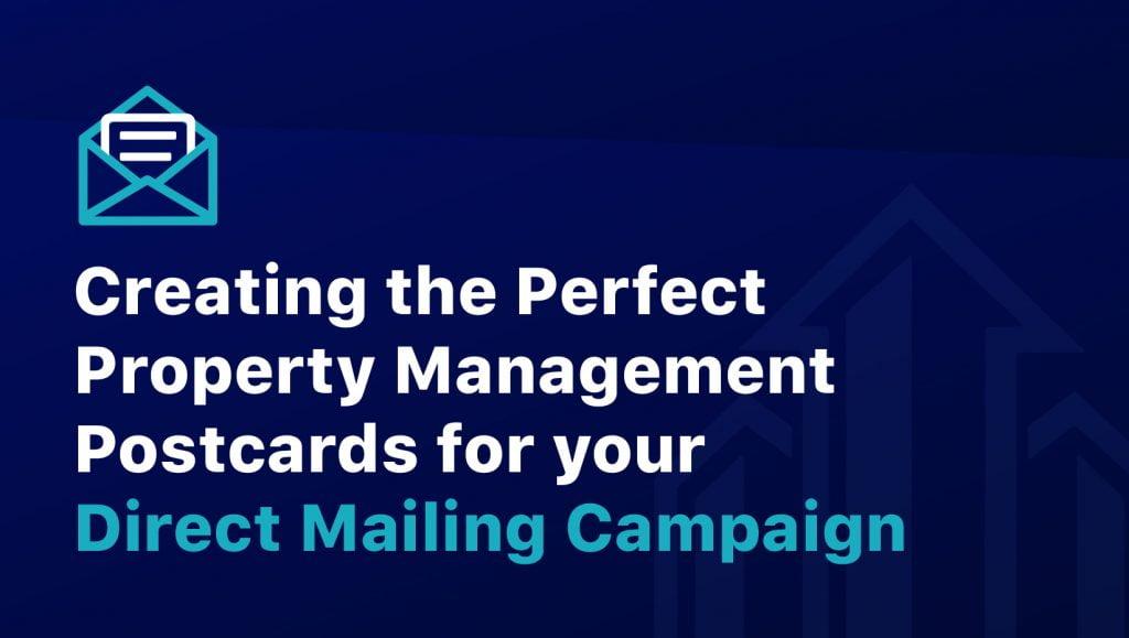 Property Management Postcard Campaign