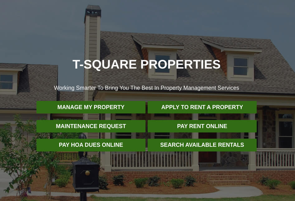 property management site