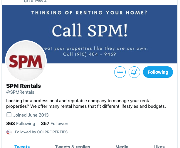 twitter for property managers