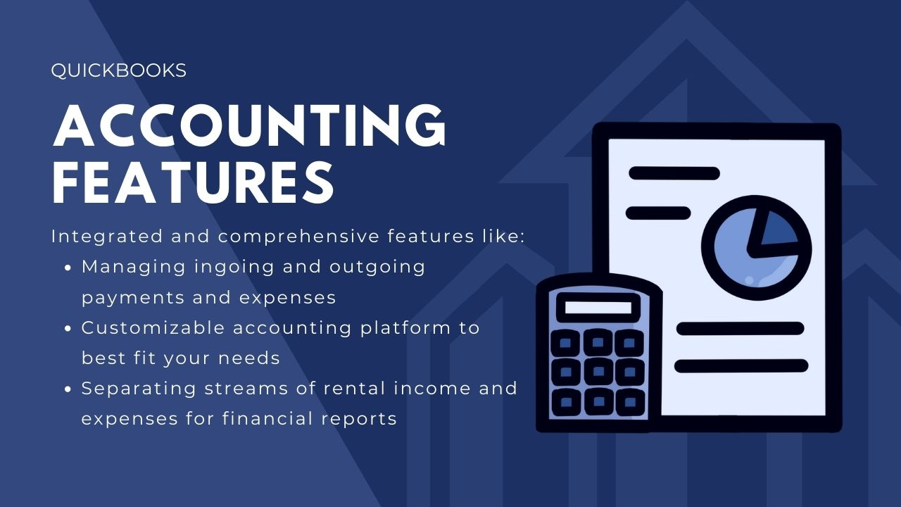 Quickbooks rental property accounting software features