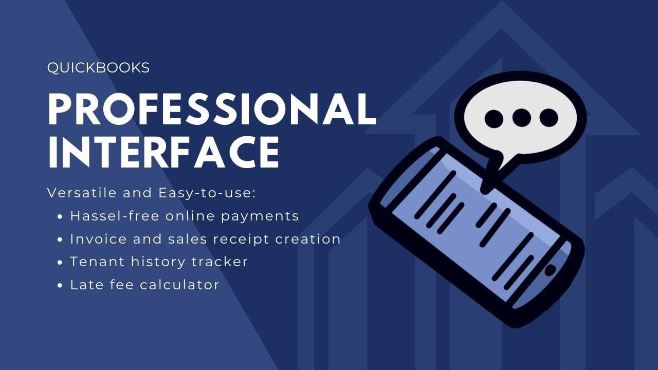 quickbooks professional interface