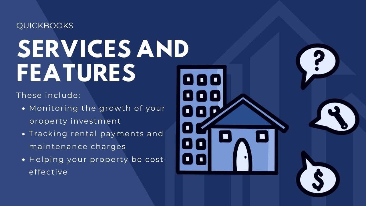 quickbooks rental property management services and features