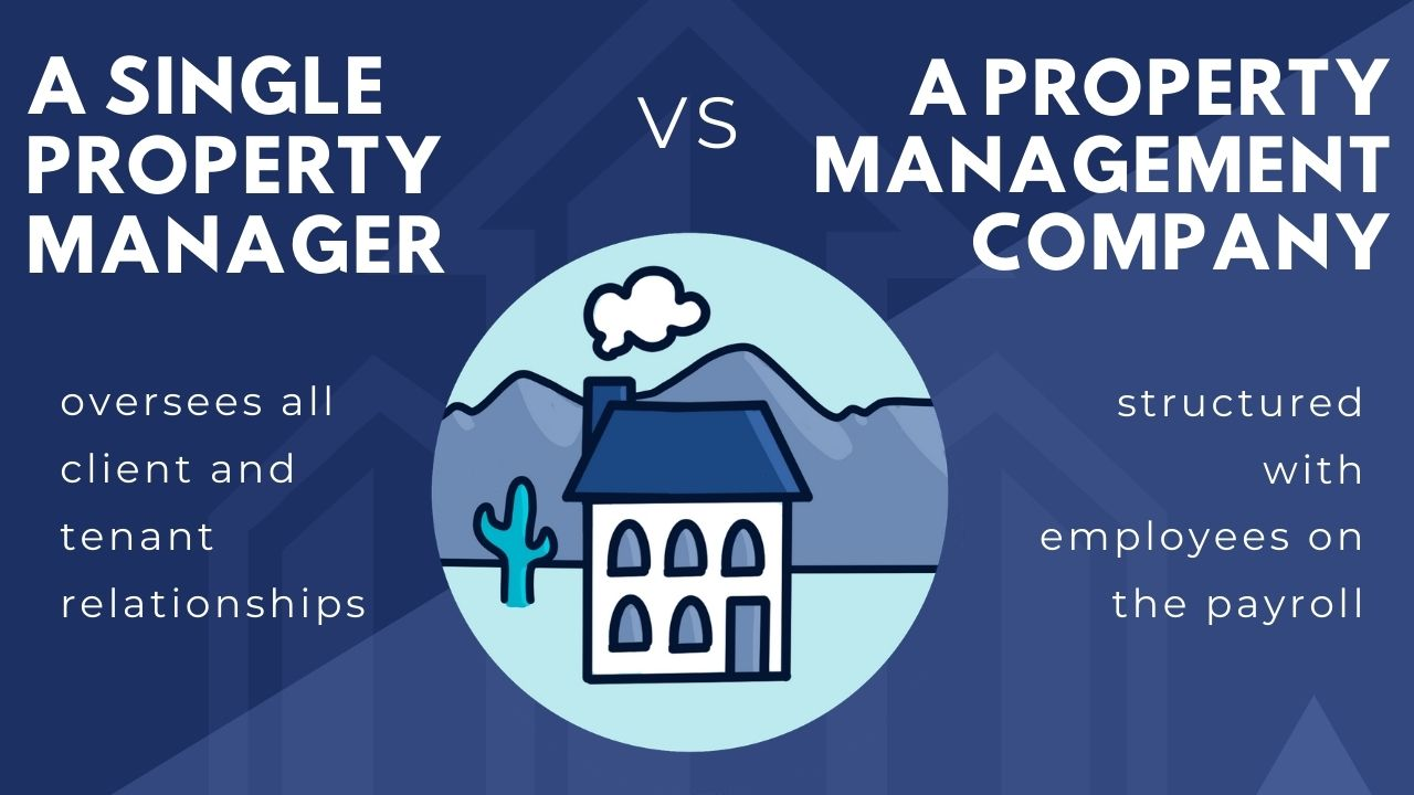 property management of texas: a single property manager vs a property management company