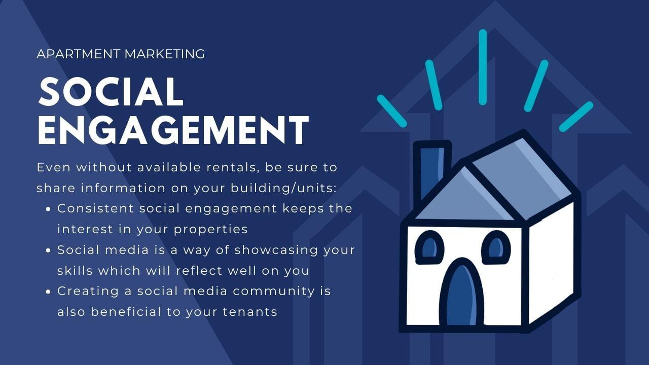 apartment marketing ideas help - social engagement