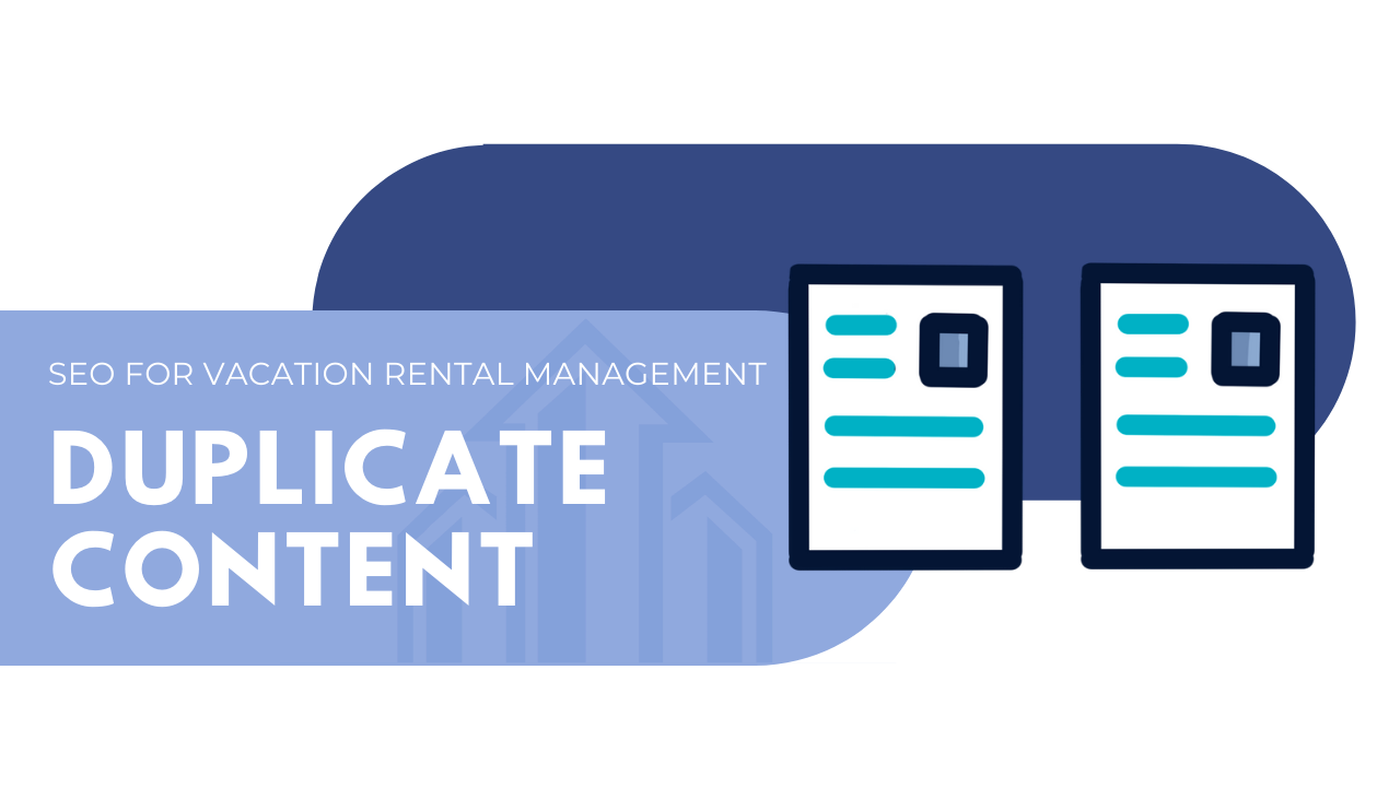 vacation rental management duplicate content