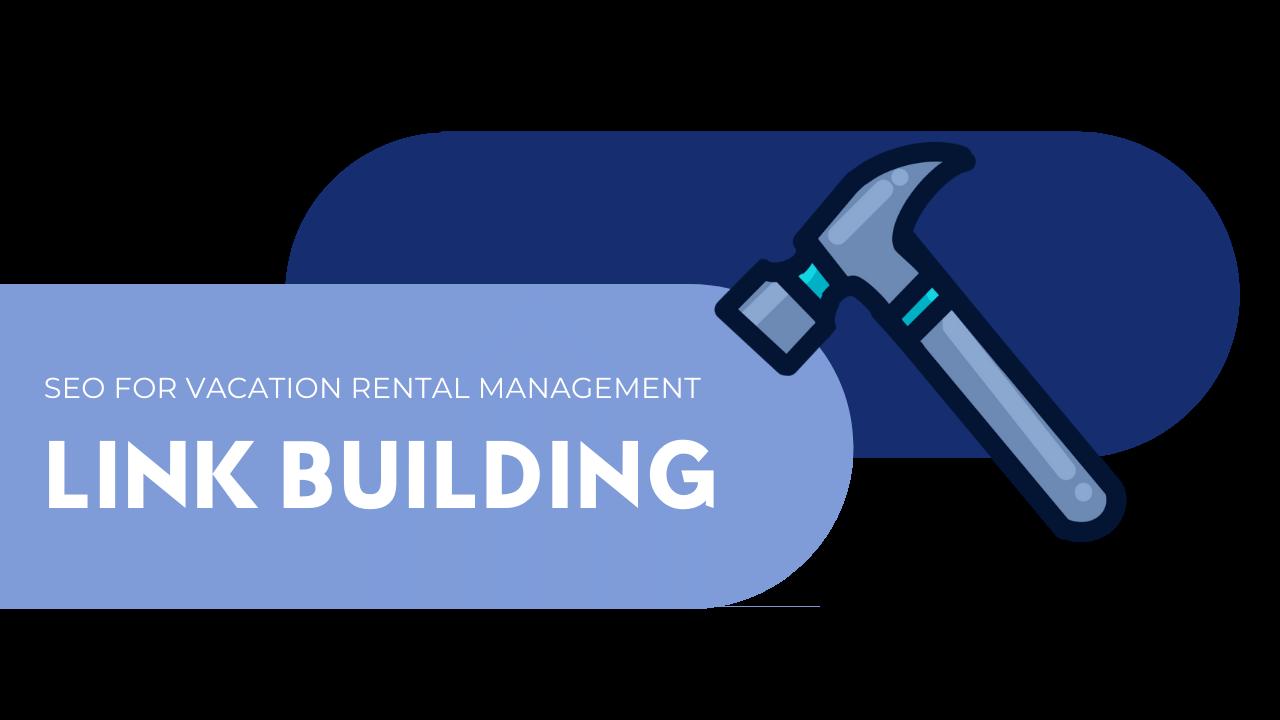 vacation rental management link building