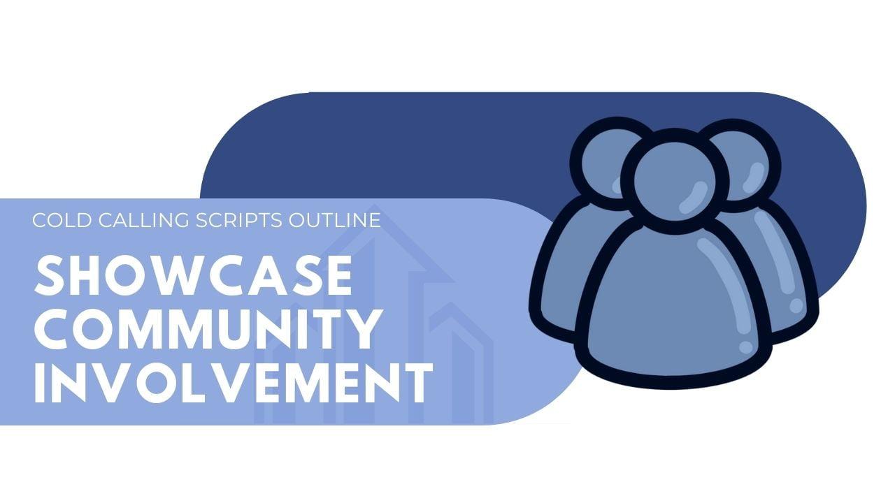 Showcase community involvement