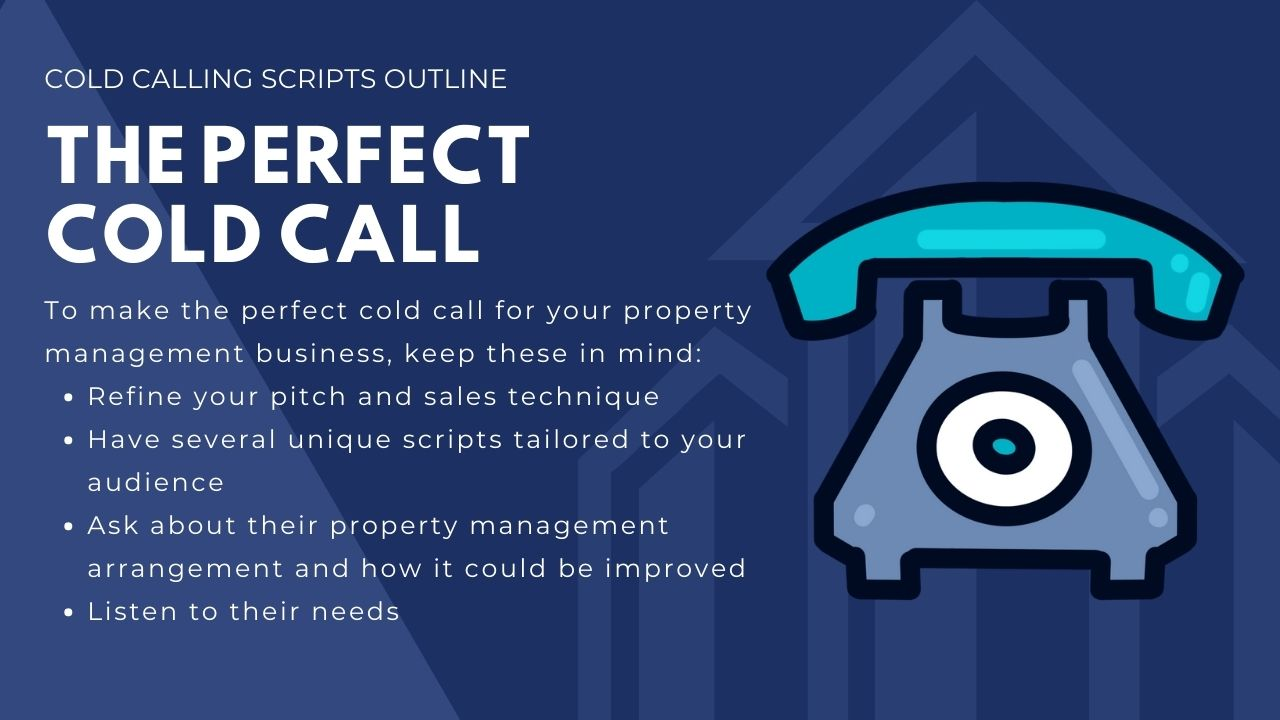 The perfect cold call for property management companies
