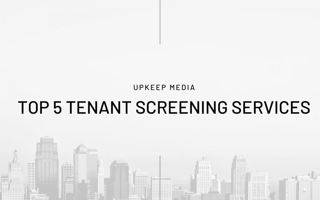 Top 5 Tenant Background Check Services